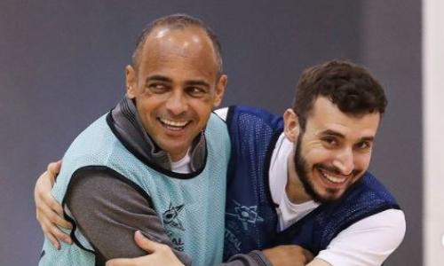 «Кайрат» на позитиве подготовился к четвертьфиналу Лиги Чемпионов с «Бенфикой». Фото