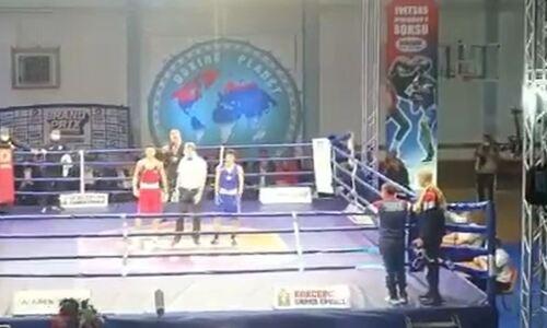 Казахстанские боксеры завоевали первое «золото» на турнире в Сербии. Видео