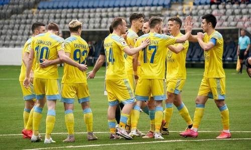 «Просто в фантастической форме». Исход матча «Астана» — «Акжайык» знает российское СМИ
