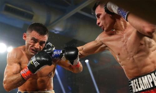 В Сети появилось фото повреждений на лице казахстанского боксера после первого поражения в карьере