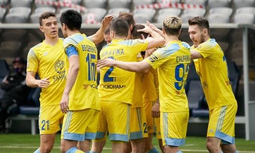 «Астана» минимально победила «Акжайык» и увеличила отрыв в КПЛ