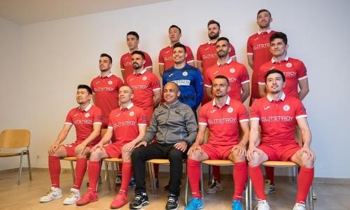 Стала известна стартовая пятерка «Кайрата» на матч Лиги Чемпионов с «Бенфикой»