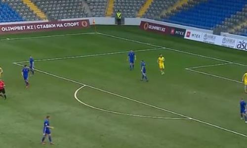 Видеообзор матча Премьер-Лиги «Астана» — «Акжайык» 1:0