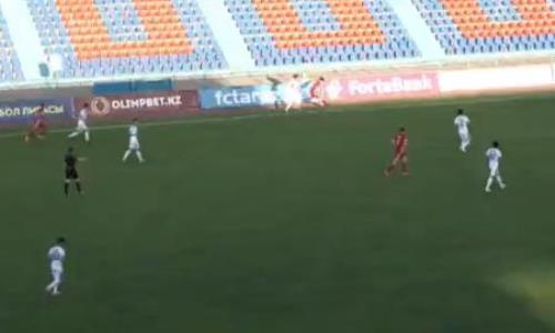 Видео гола Карамана матча Премьер-Лиги «Тараз» — «Актобе»