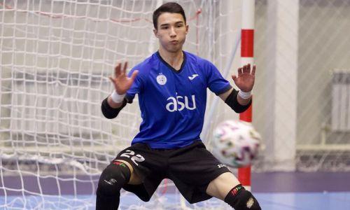 19-летний казахстанский вратарь творил чудеса в матче Лиги Чемпионов. Видео