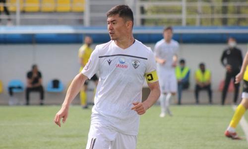 Аслан Дарабаев впервые вывел «Каспий» с капитанской повязкой