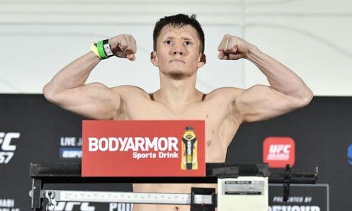 Жалгас Жумагулов прошел очередной тест на допинг перед третьим боем в UFC