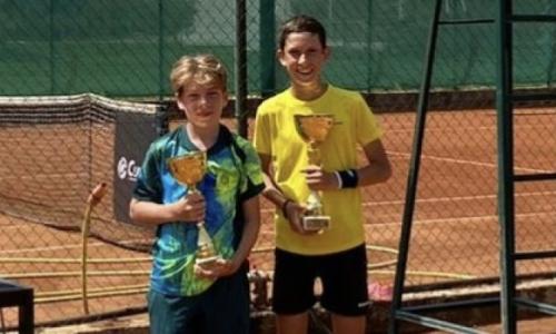 Юный казахстанский теннисист завоевал второй международный титул в сезоне