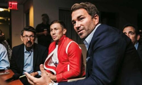 Промоутер спланировал для Головкина бой за звание абсолютного чемпиона мира