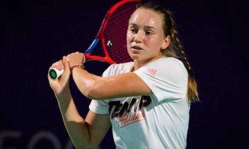 Рыбакина прошла во второй раунд Mutua Madrid Open