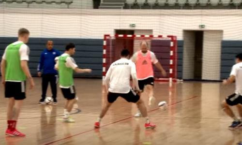 КФФ представила видео предыгровой тренировки сборной Казахстана в Будапеште