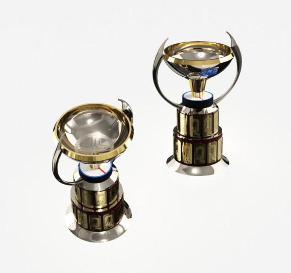 Чемпион Казахстана будет награждён новым оригинальным кубком. Фото