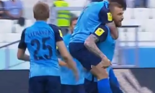 Видео дебютного гола Алексея Щеткина в РПЛ