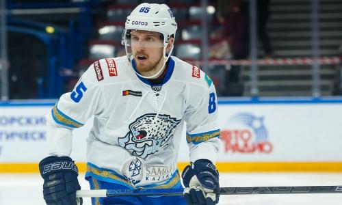 «Металлург» представил второго подписанного хоккеиста сборной Казахстана за день