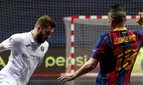 Как «Кайрат» рубился с «Барселоной» за выход в финал Лиги Чемпионов. Видео