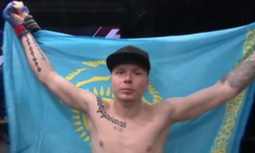 Казахстанский «Химик» за 82 секунды финишировал российского файтера
