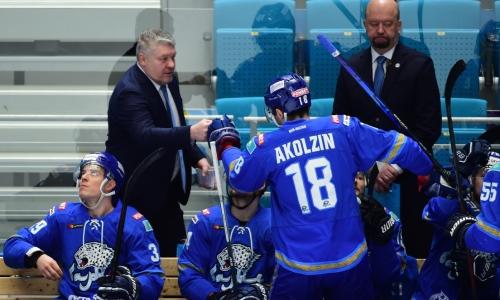 «Барыс» обратился к ушедшему в состав конкурента хоккеисту сборной Казахстана