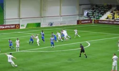 Видеообзор матча Премьер-Лиги «Тобол» — «Тараз» 3:0