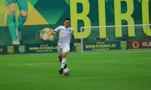 Футболист «Тобола» сыграл свой 200-й матч в КПЛ