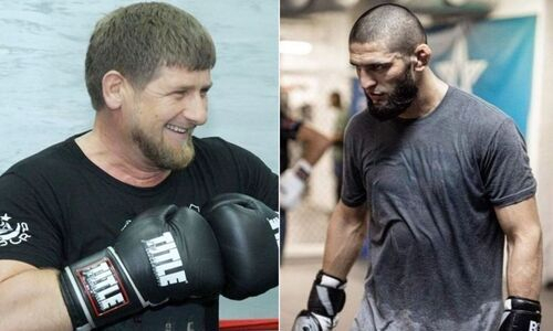 Рамзан Кадыров «затащил» на спарринг Хамзата Чимаева и удивил его. Видео