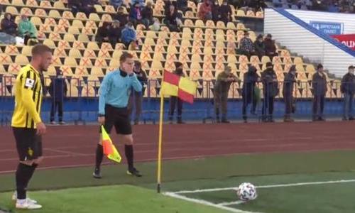 Видеообзор матча Премьер-Лиги «Кызыл-Жар СК» — «Кайрат» 1:1