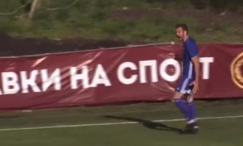Видео второго гола Ковталюка матча Премьер-Лиги «Акжайык» — «Жетысу»