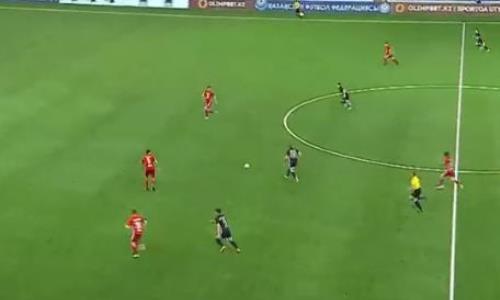 Видео гола Балашова матча Премьер-Лиги «Шахтер» — «Кайсар»