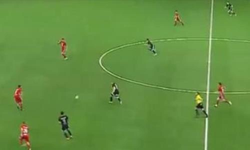 Видеообзор матча Премьер-Лиги «Шахтер» — «Кайсар» 1:1