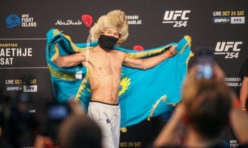 Шавкат Рахмонов отложил гильотину и приготовил для бразильца из UFC мощную «вертушку». Видео