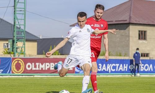 Защитник «Ордабасы» пропустит матч против «Каспия»