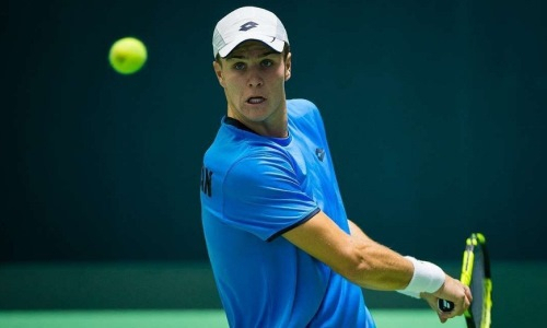 Казахстанский теннисист не смог пробиться во второй круг турнира в Праге
