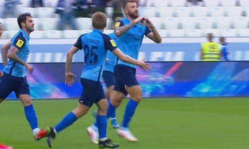 Победный мяч футболиста сборной Казахстана номинирован на лучший гол тура в РПЛ. Видео