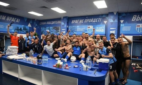 «Ротор» с Щеткиным и Шомко отпраздновал победу над «Ахматом» в РПЛ. Видео