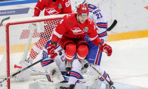 Бывший игрок «Сарыарки» официально сменил «Спартак» на клуб конференции «Барыса» в КХЛ