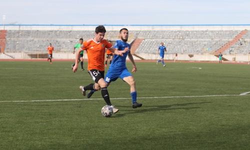 «Шахтер-Булат» и «Аксу» устроили голевую перестрелку в матче Первой лиги