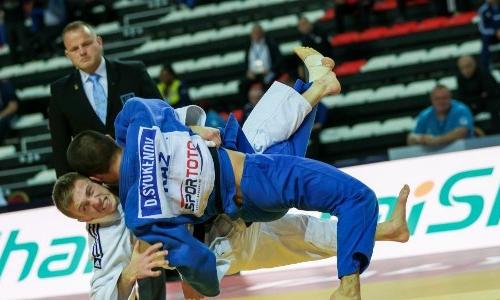 Казахстанский дзюдоист завоевал бронзовую медаль на Grand Slam в Казани