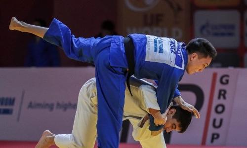 Казахстанец стал обладателем «бронзы» на Grand Slam по дзюдо в Казани