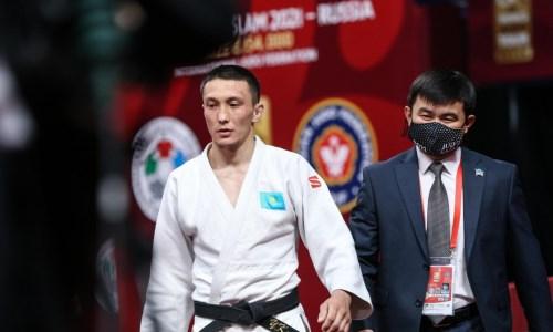 «Не считаю, что это совпадение». Казахстанский дзюдоист обозначил цели после «бронзы» на Grand Slam