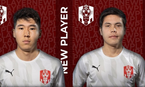 Российский клуб объявил о переходе двух универсальных казахстанских футболистов