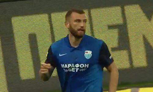 Появилось видео второго гола нападающего сборной Казахстана в РПЛ