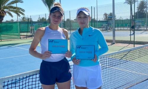 Казахстанские теннисистки отметились яркими победами на международных турнирах