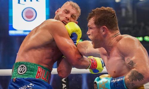 Видео полного боя Сауль «Канело» Альварес — Билли Джо Сондерс за титулы WBC, WBA Super и WBO