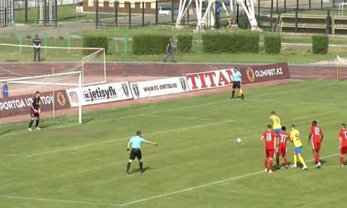 Видео гола Атыханова матча Премьер-Лиги «Жетысу» — «Актобе»