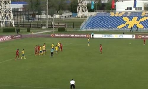 Видео гола Дубайича матча Премьер-Лиги «Жетысу» — «Актобе»