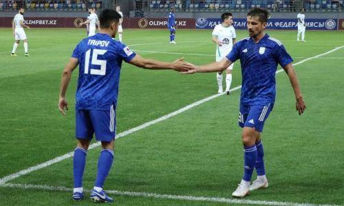 Пенальти на 92 минуте выявил победителя матча «Туран» — «Кызыл-Жар СК»