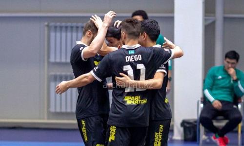 «Кайрат» разгромил «Атырау» в первом финальном матче чемпионата Казахстана