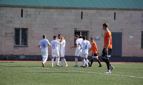 «Окжетпес» минимально переиграл «Шахтер-Булат» в матче Первой лиги