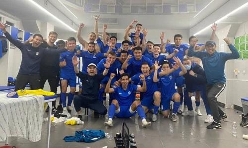 «Аксу» уверенно справился с «Кызыл-Жаром М» в матче Первой лиги