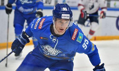 В России отметили вызов хоккеиста «Барыса» в сборную Казахстана для участия на ЧМ-2021
