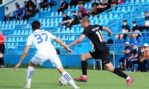 «Тараз-Каратау» вырвал победу у «Экибастуза» в концовке матча Первой лиги